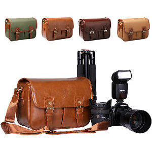 Waterproof-Camera-Shoulder-Carry-Bag-Padded-Insert-For-DSLR-Canon-EOS-Nikon-Sony