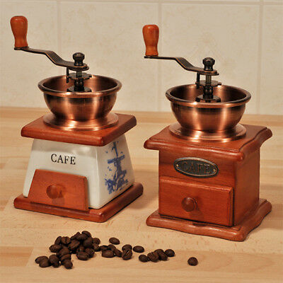 Hölzern Manuelle Kaffeemühle Handmühle Kaffee Mühle