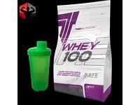 Trec Nutrition Whey100 2250g + Shaker