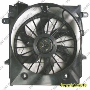 Cooling Fan Assembly 2.3L Automatic Transmission Ford Ranger 2001-2011