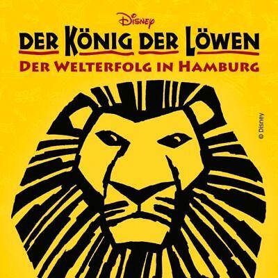 Musical DER KÖNIG DER LÖWEN 2 Tickets in PK 3 | Geschenk-Gutschein ()