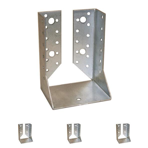 Balkenschuhe Balkenschuh innen mit Lasche Holzverbinder Balkenträger Holzträger