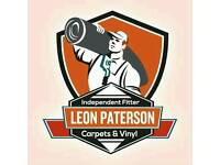 Leon paterson Independent carpet fitter great rates friendly reliable service