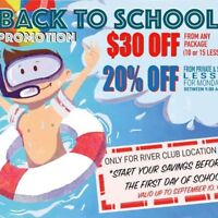 Back to School Swimming Promotion