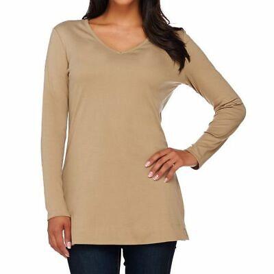 Liz Claiborne New York Essentials Size 2X Burlap Long Sleeve