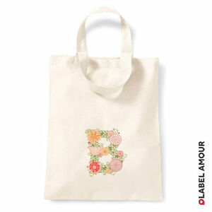 PERSONALISED-Favour-Party-Gift-Canvas-Tote-Bag-Initial