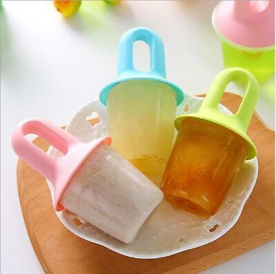 3pcs/Set Frozen Kitchen Craft Homemade Ice Lolly Mould Maker Home DIY Popsicle