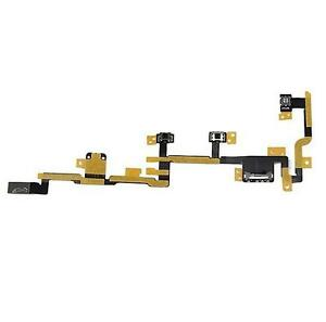 New-Power-On-Off-Volume-Control-Flex-Ribbon-Cable-Part-for-Apple-Ipad-2