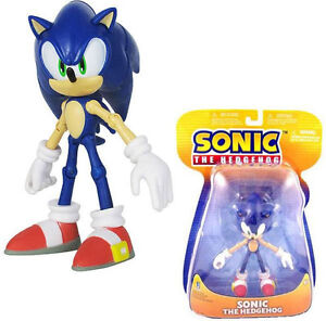 Sonic The Hedgehog: Official 2011 Sega Action Figure - New In Sealed Pack