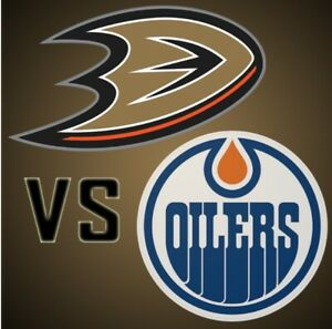 Oilers vs Ducks March 30th SOLD