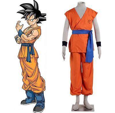 Dragon Ball Z Goku Super Saiyan God Super Saiyan Kakarotto Cosplay Costume Shoes](Super Saiyan Goku Halloween Costume)