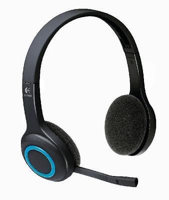Logitech H600 Wireless Headset schnurlos schwarz-blau / ohne USB-Stick H600 Wireless Headset