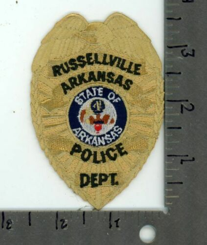 ARKANSAS AR RUSSELLVILLE POLICE NEW PATCH SHERIFF