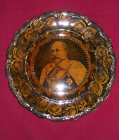 ANTIQUE KING EDWARD MEMORIAL PLATE (RARE)