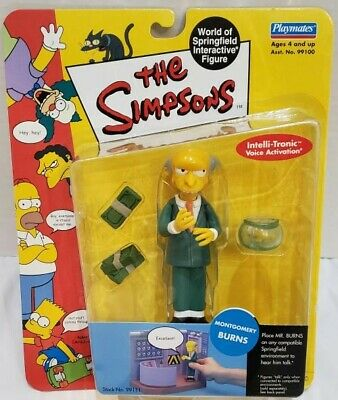 Montgomery Burns (SIMPSONS WOS Series 1 Interactive Montgomery)