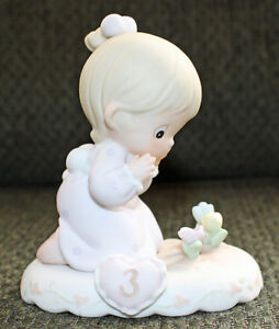 PRECIOUS MOMENTS Growing in Grace Girl Figurines Cambridge Kitchener Area image 3