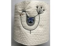 Gift wrapped Embroidered Toilet Roll to your specification
