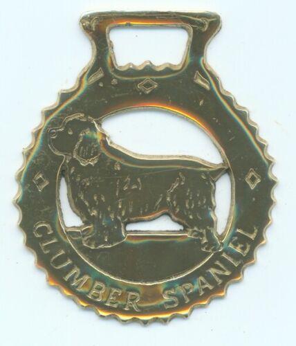 CLUMBER SPANIEL      Horse brass  (N608)