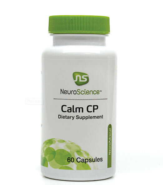 NeuroScience Inc Calm CP 60 capsules Expiration 08/2021