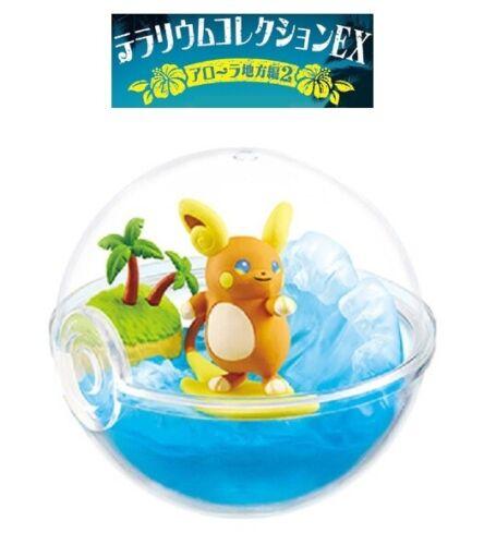 RE-MENT Pokemon Sun & Moon Terrarium Collection EX Alola Region 2 Figure Raichu