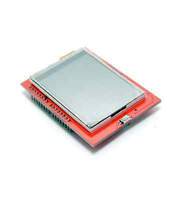 2.4 Tft Lcd Shield Touch Panel Module Tf Micro Sd For Arduino Uno R3 New