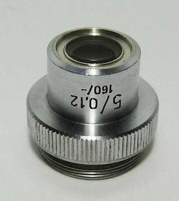 Pzo Achromat Objective 5x 012 Microscope Biolar Zeiss