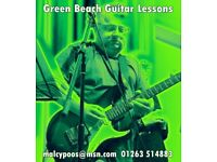Green Beach Guitar Lessons - any age or ability level