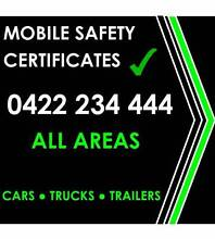 Safety Certificates - Cars - Trucks - Trailers Logan Area Preview