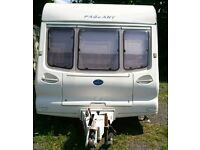 4 berth Bailey pageant 1998/1999 with porch awning and extras