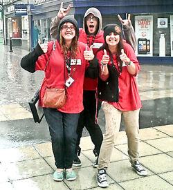 Charity Street Fundraiser £296.10-£336pw + Uncapped Bonus! No Experience Necessary - Immediate Start