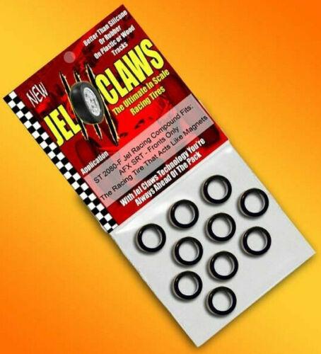 Jel Claws Front HO 1/64 Slot Car Tires - AFX SRT / Mega G & Tomy Turbo ST-2080-F