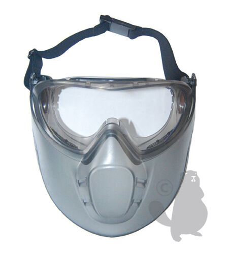 Glasses and mask security in polycarbonate