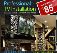 iMount-TV Installations / TV Installs / TV Mounts / Mounting TVs