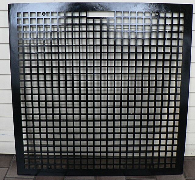CAST IRON FLOOR HEATING GRATE 1930s