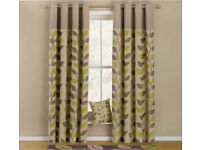 Green Leaves Curtains