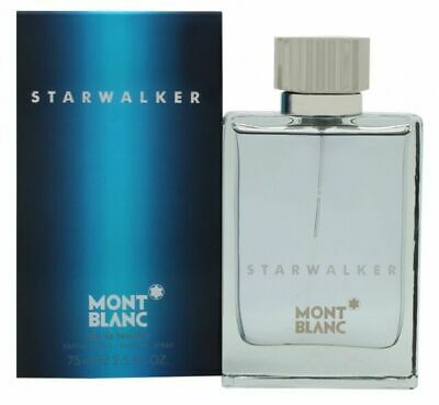 MONT BLANC STARWALKER 75ML EAU DE TOILETTE SPRAY BRAND NEW & SEALED