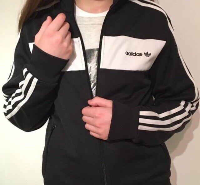 Adidas Black and white jacket