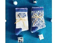 New Luxury Christmas Gift Socks Sets, Ladies & Girls Gifts Sets, Socks Size 3-7