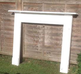 Wooden Fireplace Surround FREE