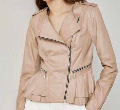NWT BCBG Max Azria Valentina Leather Jacket Size M