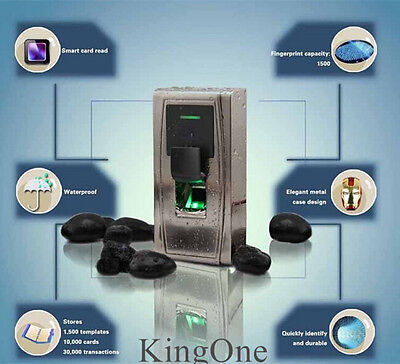 Zksoftware Ma300 Biometric Fingerprint Rfid Card Door Access Controller Tcpip