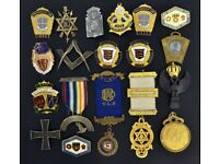 Masonic medals wanted