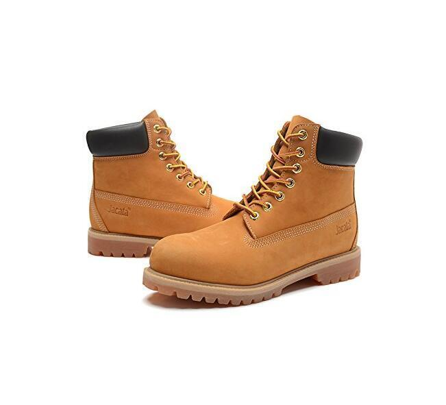 Water Resistant Shoe Winter Snow Work Boots Mens Genuine Leather 6'' Lace Up 061 1