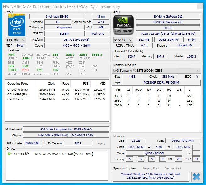 POWERFUL SERVER/WORKSTATION - Dual Intel Xeon 3Ghz (8 cores) - 32GB RAM    in Wimbledon, London   Gumtree