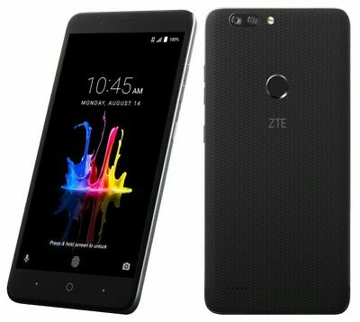 New Zte Blade Zmax Metropcs Octacore 32Gb Dual Cam Free Case Or Tempered Glass