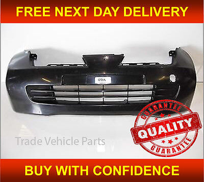 NISSAN MICRA K12 2003 2005 FRONT BUMPER NO FOG HOLES NEW INSURANCE APPROVED