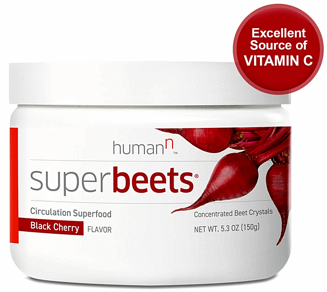 Super Beets Circulation Superfood  Black Cherry  Ships FREE SAME DAY HumanN