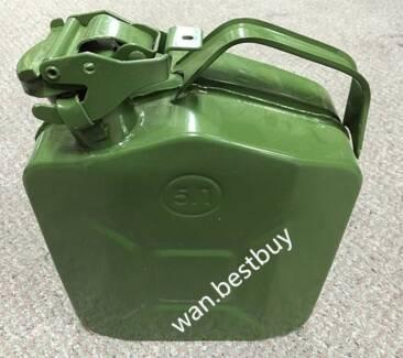 5L Metal Jerry Can+Fuel/Petrol/Diesel/Water storage   -BRAND NEW