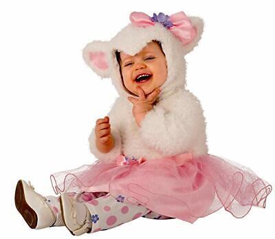 Lamb Halloween Costume (Rubies Little Lamb Furry Tutu Animals Infants Toddlers Halloween Costume)