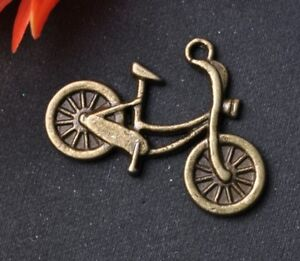 20pcs-bronze-color-tibetan-silver-bike-charms-26mm-SH159
